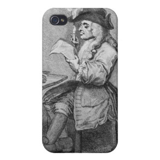 The Politician, etched by John Keyse Sherwin iPhone 4 Cover