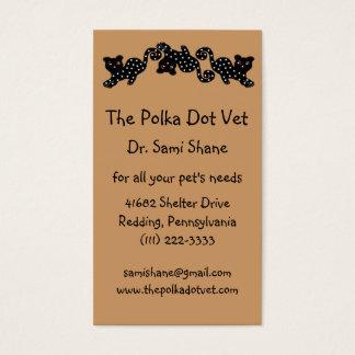The Polka Dot Cat Business Card