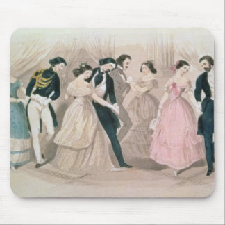 The Polka Fashions, from Godey's Lady's Book Mouse Pad