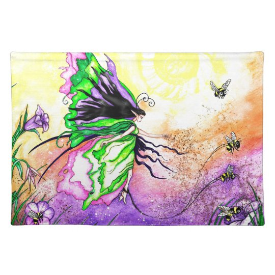 The Pollinatin Prominade Cloth Placemat
