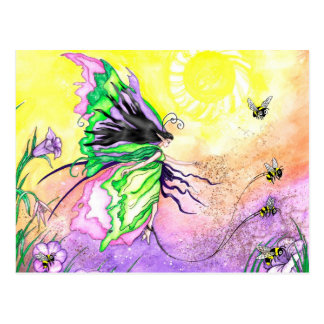 The Pollinatin Prominade Postcard