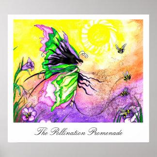 The Pollination Promenade Art Print