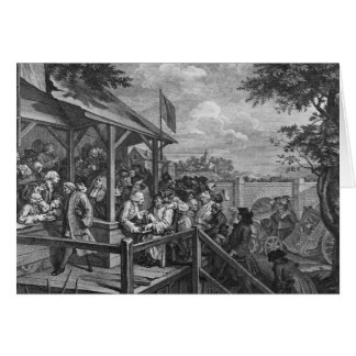 The Polling, 1758 Cards