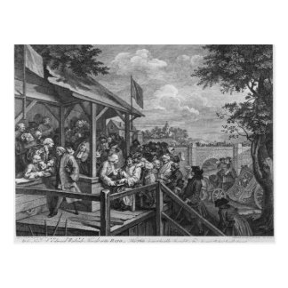 The Polling, 1758 Post Card