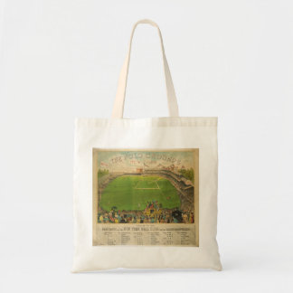 The Polo Grounds Baseball Stadium in 1887 Canvas Bag