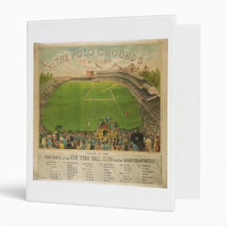 The Polo Grounds Baseball Stadium in 1887 Binder