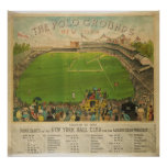 The Polo Grounds Baseball Stadium in 1887 Posters
