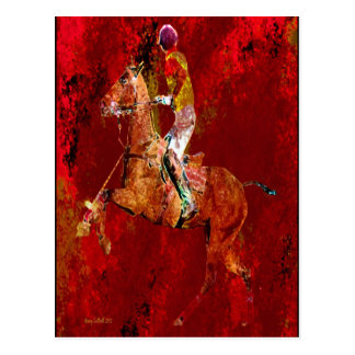The Polo Player Post Cards