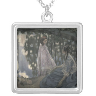 The Pond, 1902 Silver Plated Necklace