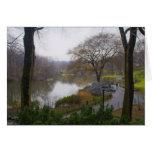 The Pond (2) - Central Park NYC Card