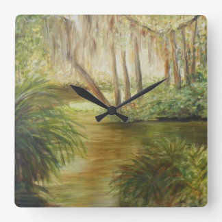 THE POND AT WASHINGTON OAKS Wall Clock