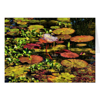 The Pond, Greeting Card