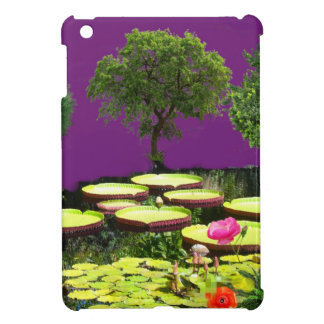 The pond is sometimes a fairy tale iPad mini cases