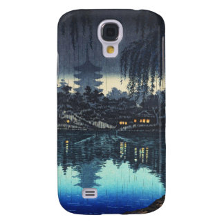 The Pond of Sarusawa Nara on a Rainy Evening Samsung S4 Case