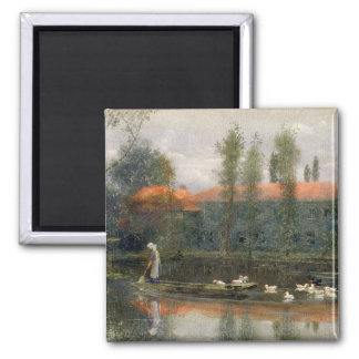 The Pond of William Morris Works at Merton Abbey ( Magnet