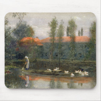 The Pond of William Morris Works at Merton Abbey ( Mouse Pad