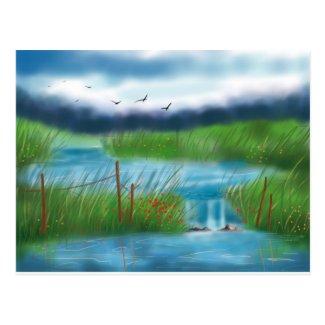 The Pond Postcard