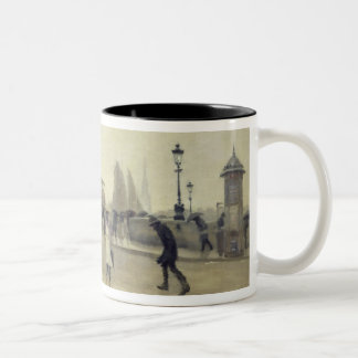 The Pont Corneille, Rouen, 1891 Two-Tone Coffee Mug