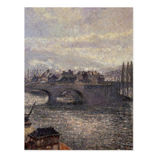The Pont Corneille, Rouen, Morning Effect by Camil Postcard
