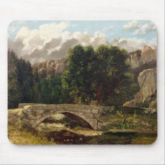 The Pont de Fleurie, Switzerland, 1873 Mouse Pad
