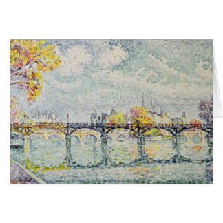 The Pont des Arts, 1928 Greeting Card