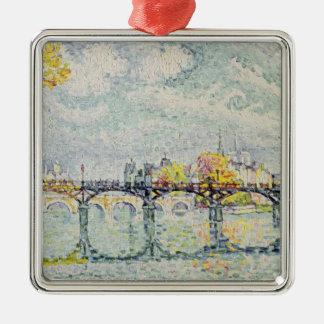 The Pont des Arts, 1928 Metal Ornament