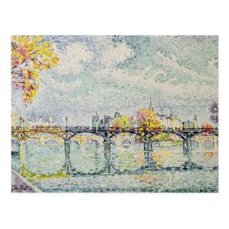 The Pont des Arts, 1928 Postcard
