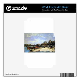 The Pont des Arts and the Institut de France iPod Touch 4G Decal