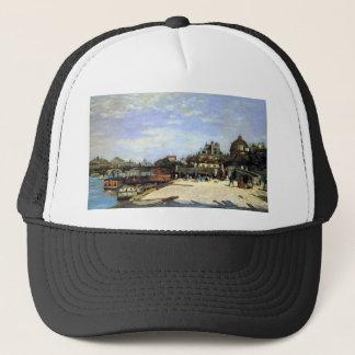 The Pont des Arts and the Institut de France Trucker Hat