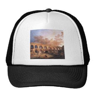 The Pont du Gard by Hubert Robert Trucker Hat
