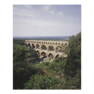 The Pont du Gard Poster