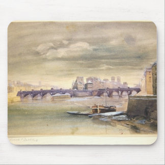 The Pont-Neuf and the Ile de la Cite, 1881 Mouse Pad