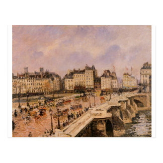 The Pont Neuf by Camille Pissarro Postcard