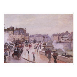 The Pont Neuf by Claude Monet Postcard
