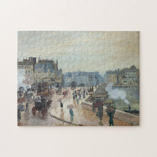 The Pont Neuf Monet Fine Art Jigsaw Puzzle
