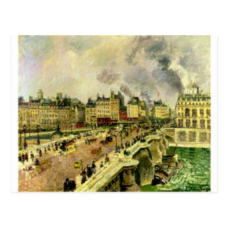 The Pont Neuf, Shipwreck of the Bonne Mere Postcard