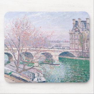 The Pont-Royal and the Pavillon de Flore Mouse Pad