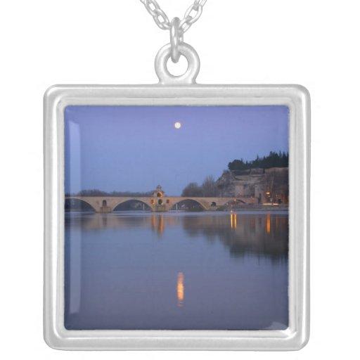 The Pont St. Benezet bridge in Avignon on the Pendants