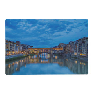The Ponte Vecchio in Florence Placemat