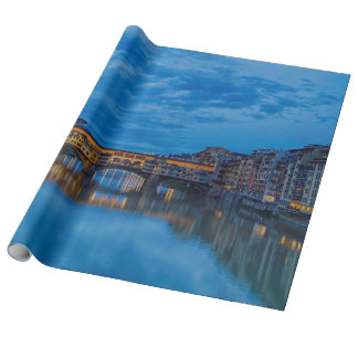 The Ponte Vecchio in Florence Wrapping Paper