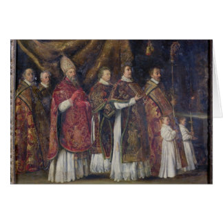 The Pontifical Mass or, The Procession Cards