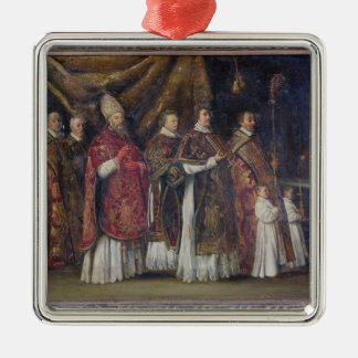 The Pontifical Mass or, The Procession Metal Ornament