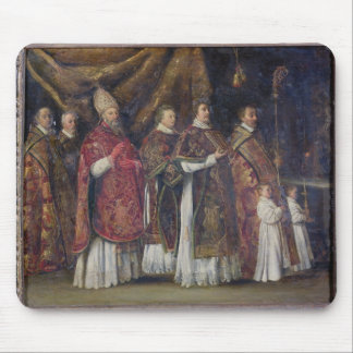 The Pontifical Mass or, The Procession Mouse Pad