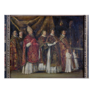 The Pontifical Mass or, The Procession Poster
