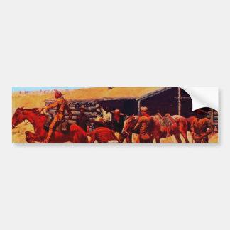The Pony Express Bumper Sticker