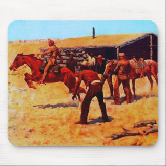 The Pony Express Mouse Pad