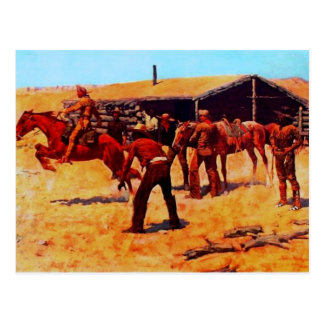 The Pony Express Postcard