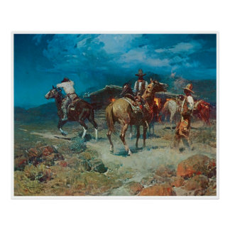 The Pony Express Poster