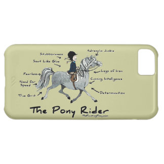 The Pony Rider iPhone 5C Covers