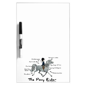 The Pony Rider Dry-Erase Board